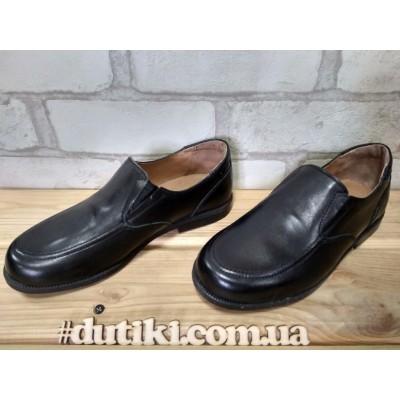 Туфли для мальчиков из натуральной кожи AE-041