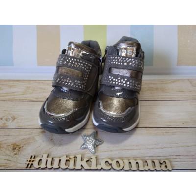 Ботинки для девочек, А05-4 grey