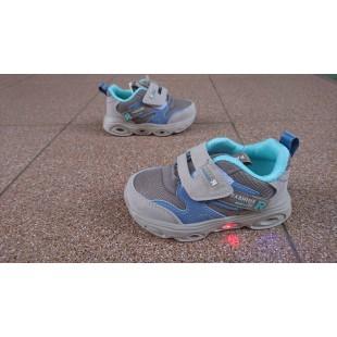 Кроссовки для мальчиков с мигалками Арт: L2-5072
