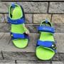 Босоножки для мальчиков GP04 blue-green