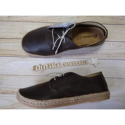 Туфли из натуральной кожи, SG-5T brown