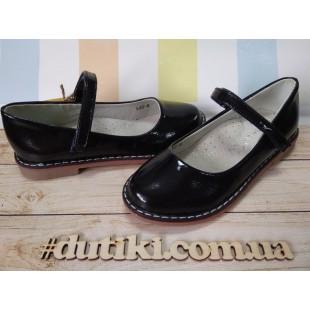 Школьные туфли для девочек Арт: К40-8 - последняя пара!