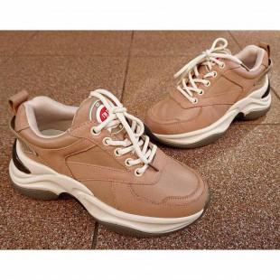 Кожаные кроссовки женские и подростковые Арт: 788К