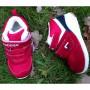 Ботинки утепленные кроссовки,  31-04003M red