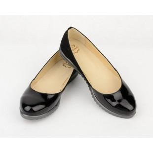 Женские туфли из натуральной кож и и замша Арт: Мatino