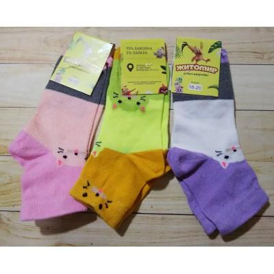 Хлопковые носки для девочек, OAM340