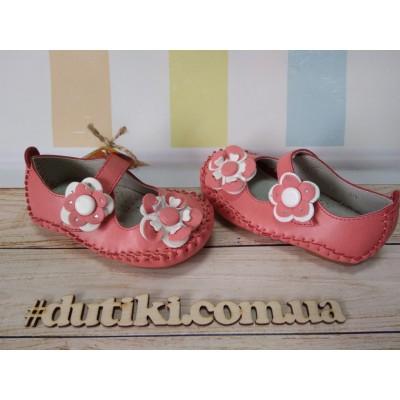 Туфли для девочек, С 3 corall