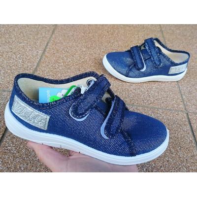 Текстильные кеды мокасины - обувь для школы Арт: Саша