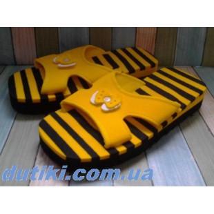 Сланцы для пляжа и бассейна Арт: 780 yellow