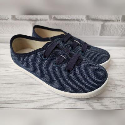 Кеди для хлопчиків, текстильні мокасини Валді, Стас_blue