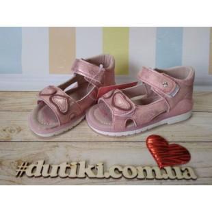 Босоножки для девочек с каблуком Томаса Арт: 5478-Е pink