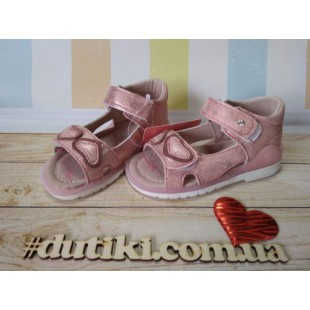 Босоножки для девочек с каблуком Томаса Арт: 5478-Е pink - последняя пара!