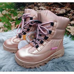 Зимние термо ботинки для девочек Арт: C80-77T