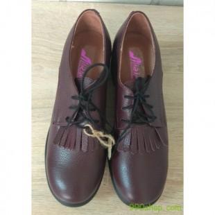 Женские кожаные туфли Арт.: 32-2 бордо