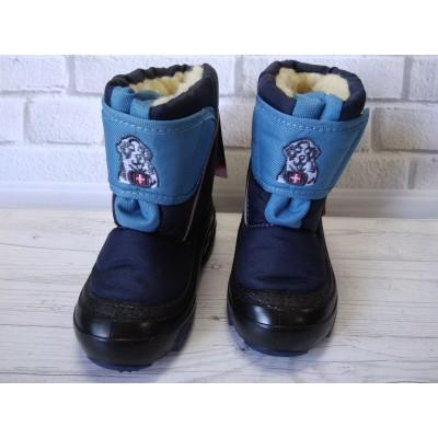 Зимние сапоги, дутики Doggy d_blue