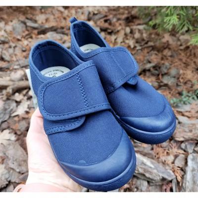 Сині текстильні кеди, мокасини для хлопчиків School_blue