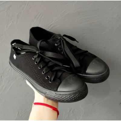Черные кеды мужские и подростковые, 11BM5 black