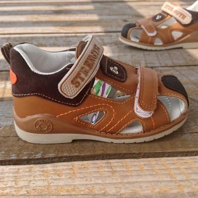 Босоножки сандалики с закрытым носком для мальчиков А 627-3