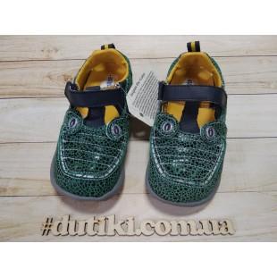 Туфли-сандалии для мальчиков из натуральной кожи : Крокодил - последняя пара!