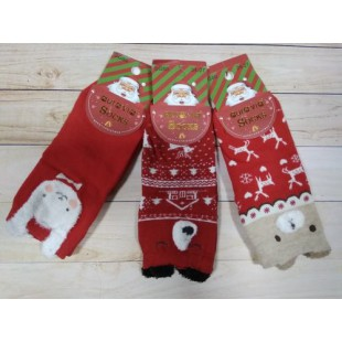 Новогодние носки Aura 24-27 Арт: SG80