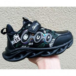 Кроссовки для мальчиков Арт: 1-2091 black