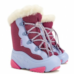SNOW MAR a роз- детские зимние сапоги (дутики) на овчине