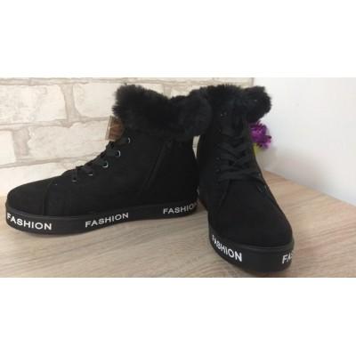 Зимние плюшевые ботинки Арт 24-1