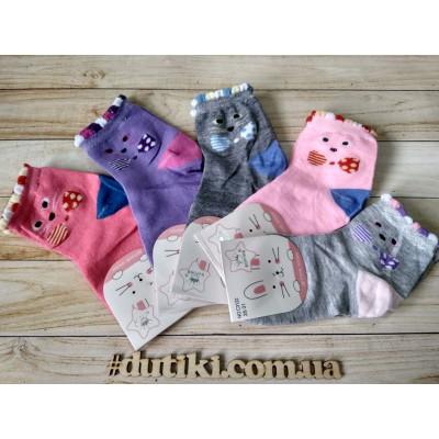 Хлопковые носки для девочек, C3122