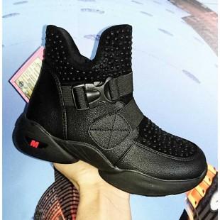 Полусапожки ботинки для девочек Арт: 3316 black