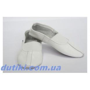 Чешки белые премиум качества с кожаной стелькой Matita_white