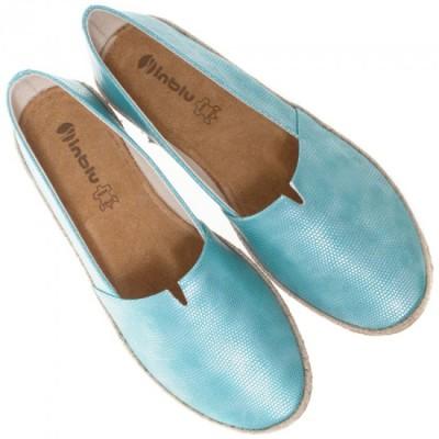 Женские туфли - эспадрильи SG0203 бирюза