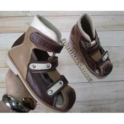 Ортопедические сандалии, Ecoby 006BrB