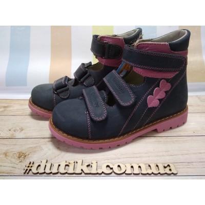 Ортопедические туфли для девочек 011BP