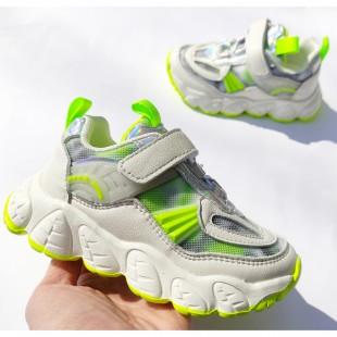 Кросівки для дівчаток з натуральної шкіри Арт: L2-730