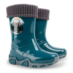 Дитячі гумові чоботи з утеплювачем STORMER LUX PRINT 0403C