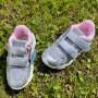 Сріблясті кросівки для дівчаток Арт: A4060