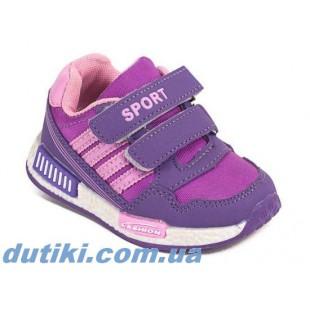 Кроссовки для девочек Арт: 1028-1 purple