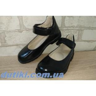 Ортопедические туфли для девочек Арт: 2151кожа лак