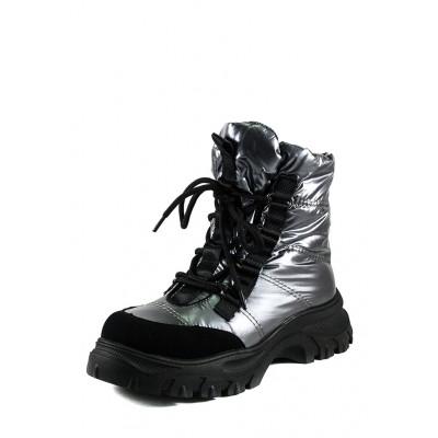 Зимові черевики дутики жіночі, підліткові  1616-F801-2
