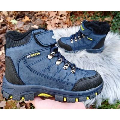 Зимние термо ботинки мальчикам Турция, 1461 blue