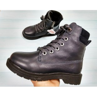 Зимние ботинки из натуральной кожи Арт: 5431-71