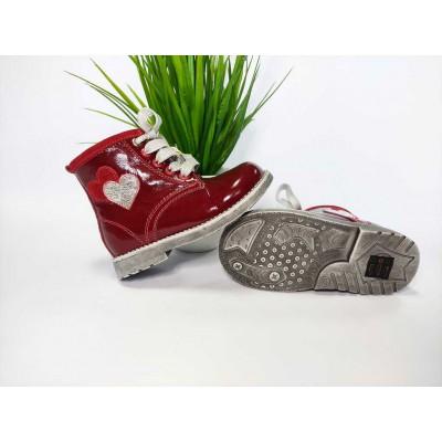 Ортопедические ботинки, 17-1511 red