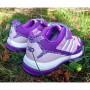 Кроссовки дышащие для девочек школьниц 9071 fiolet