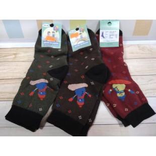 Махровые носки для мальчиков и девочек  Житомир 18-20 (31-36рр) Арт: ОК102