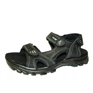 Летние мужские сандалии Арт: 18111 black