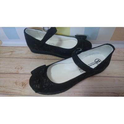 Туфли для девочек кожаные ортопед