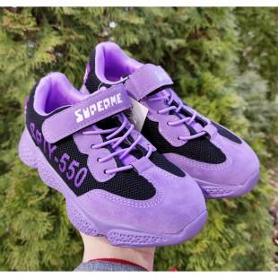 Кросівки для дівчаток Арт: 05-002 purple