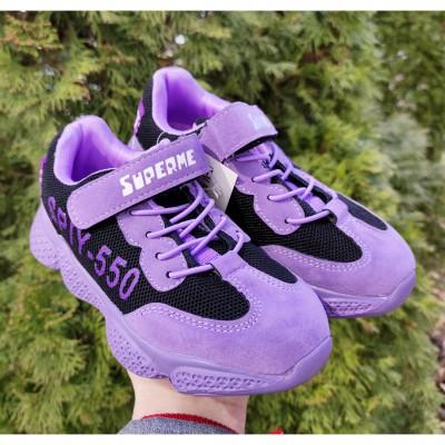 Кросівки для дівчаток, 05-002 purple