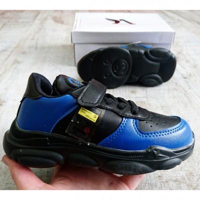 Кросівки для хлопчиків, K27-002 black-blue