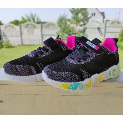 Кросівки текстильні для дівчаток, 991-W12